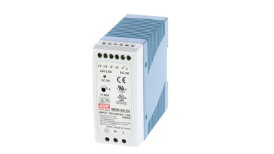 DIN Rail Power Supply, 24V, 2.5A, 60W, Adjustable Köp {0}